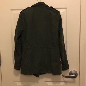 BB Dakota Jackets & Coats - BB Dakota Military Cargo Utility Jacket Cotton